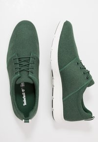 Timberland - KILLINGTON - Matalavartiset tennarit - dark green - 1