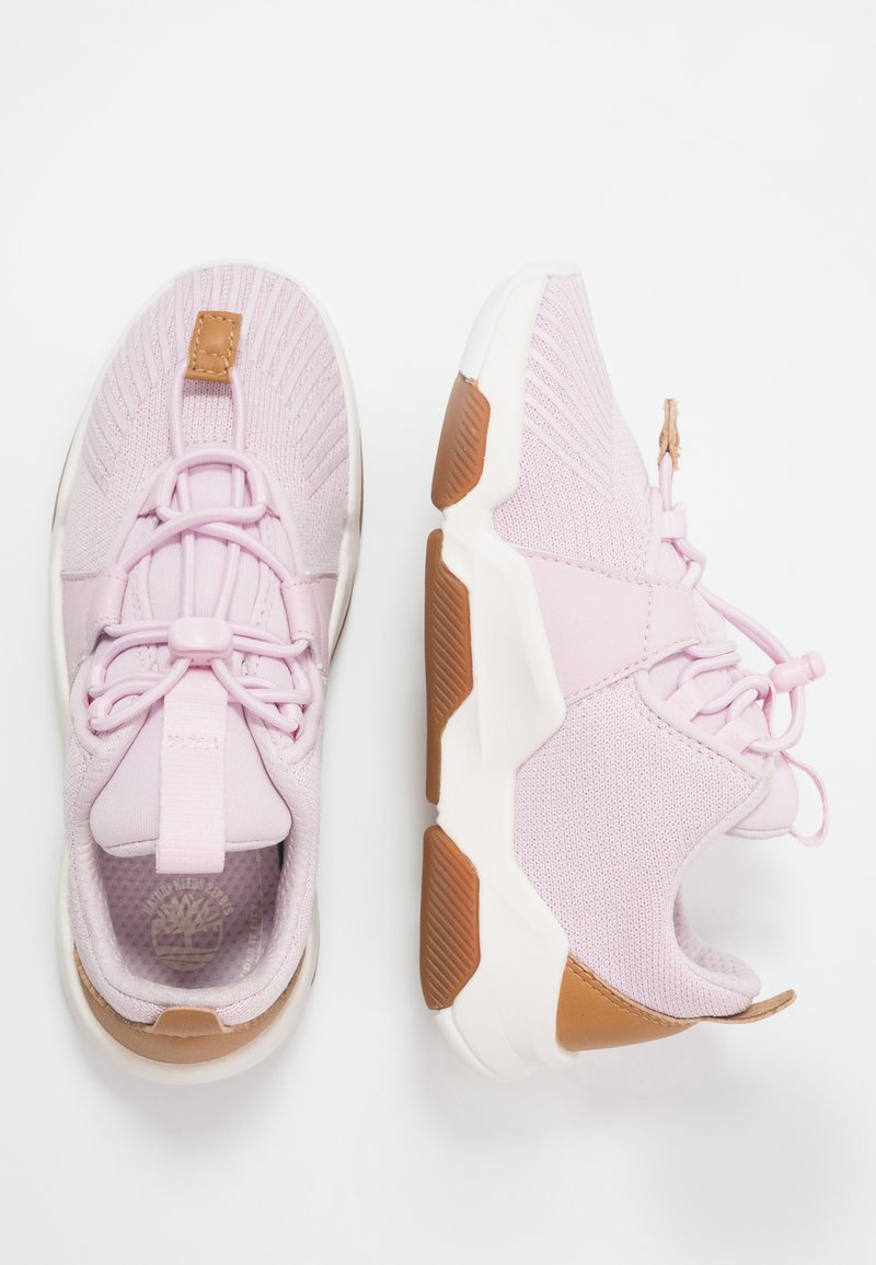 Timberland - EARTH RALLY FLEXIKNIT OX - Trainers - light pink