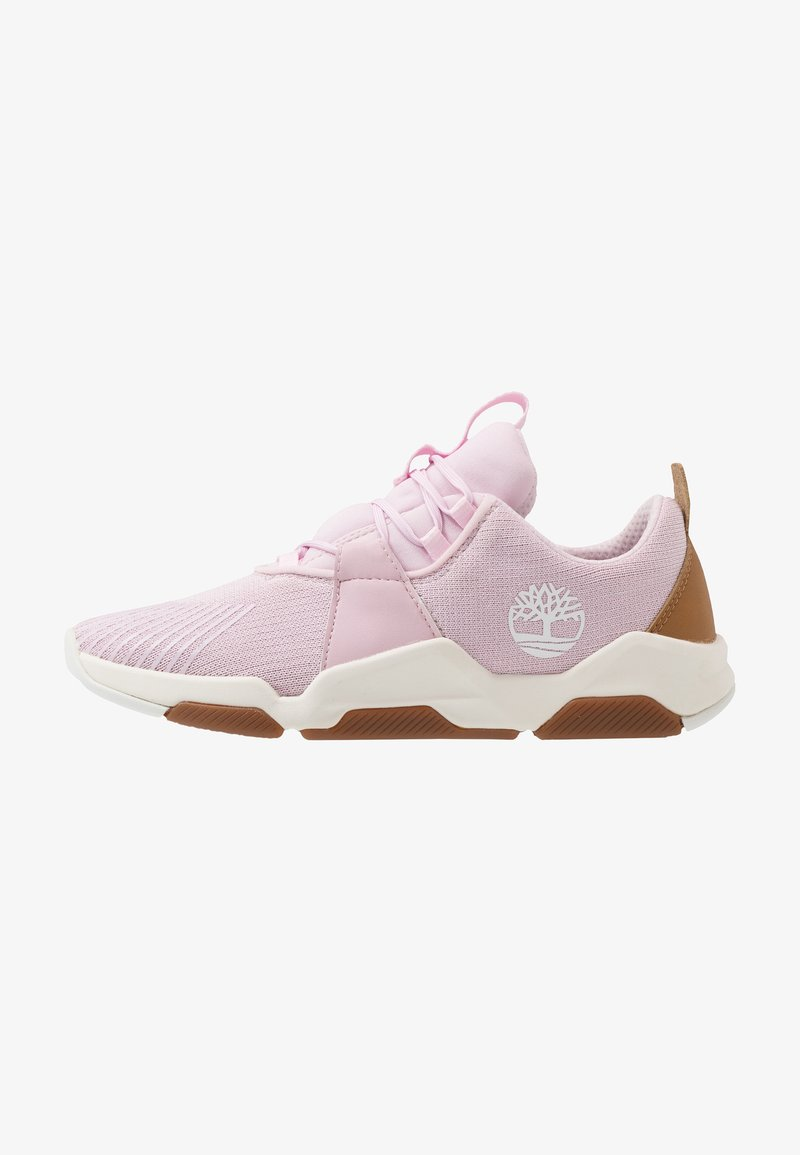Timberland - EARTH RALLY FLEXIKNIT - Trainers - light pink
