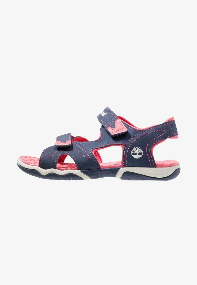 ADVENTURE SEEKER 2 STRAP - Walking sandals - navy/pink