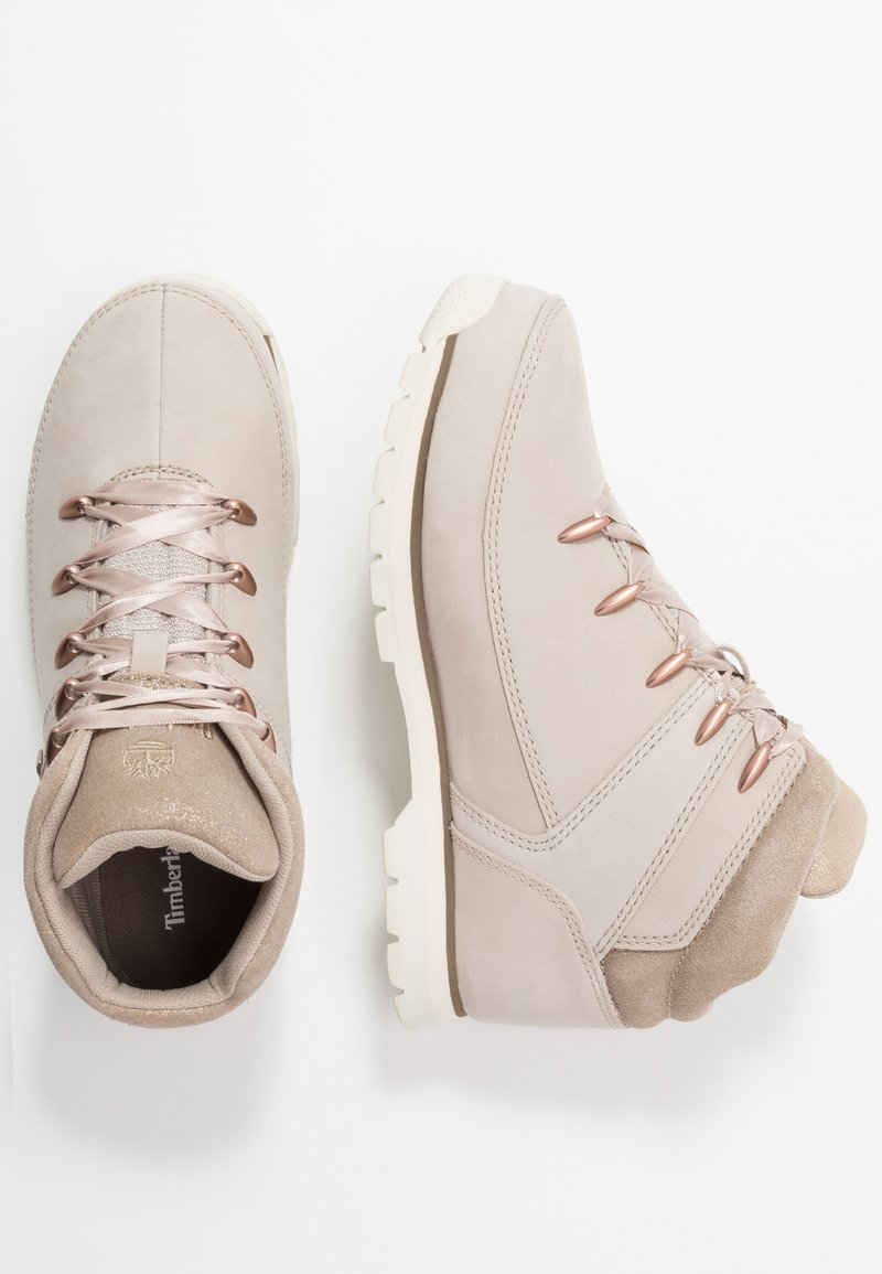 Timberland - EURO SPRINT - Bottines à lacets - light taupe