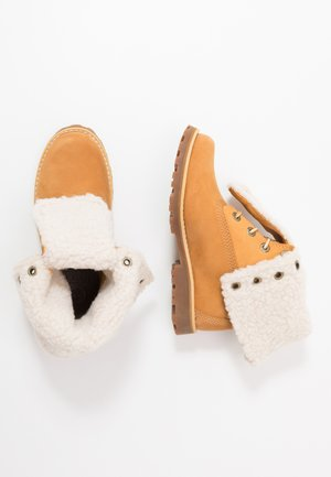 6 IN WP BOOT - Botines con cordones - wheat