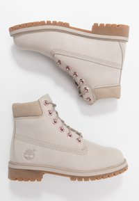 Timberland - 6 IN PREMIUM WP BOOT - Lace-up ankle boots - light taupe - 0