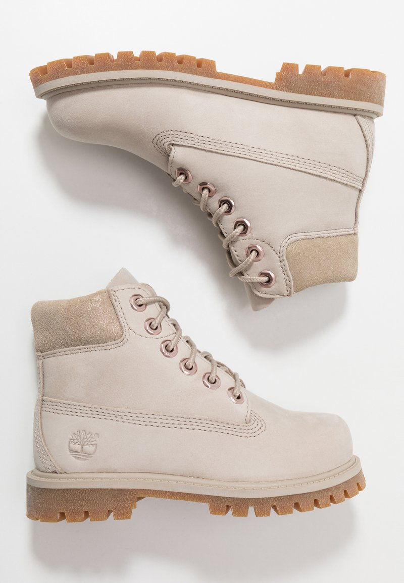 Timberland - 6 IN PREMIUM WP BOOT - Lace-up ankle boots - light taupe