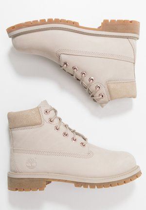6 IN PREMIUM WP BOOT - Botines con cordones - light taupe