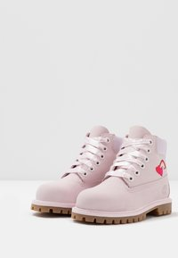 Timberland - 6 IN PREMIUM WP BOOT - Lace-up ankle boots - light pink - 3