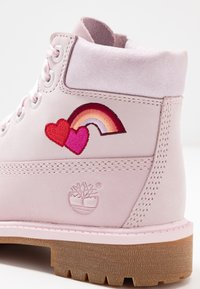 Timberland - PREMIUM WP - Lace-up ankle boots - light pink - 2