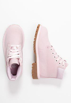 PREMIUM WP - Lace-up ankle boots - light pink