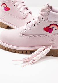 Timberland - PREMIUM WP - Lace-up ankle boots - light pink - 6