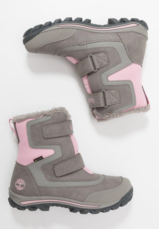 CHILLBERG 2-STRAP GTX - Winter boots - medium grey