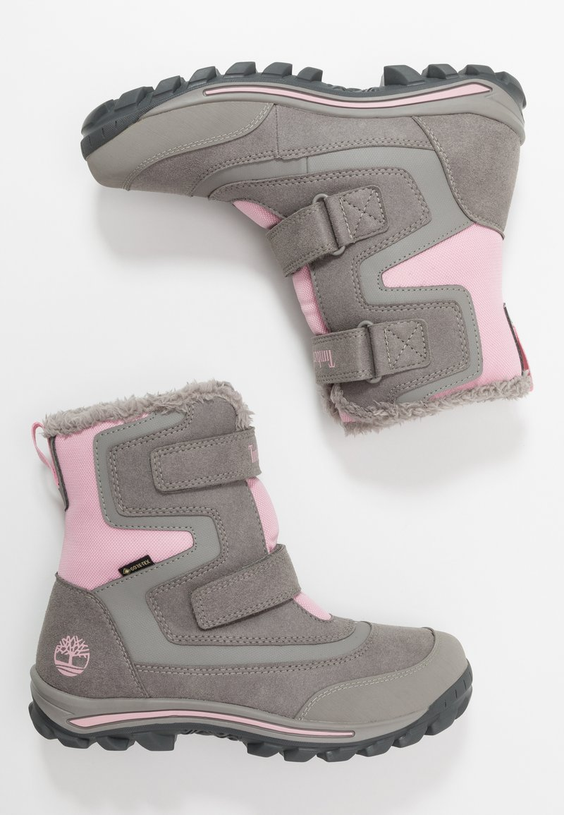 Timberland - CHILLBERG 2-STRAP GTX - Winter boots - medium grey