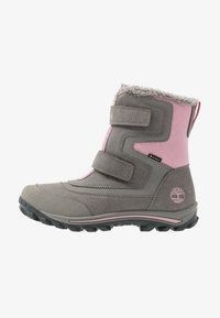 Timberland - CHILLBERG 2-STRAP GTX - Winter boots - medium grey - 1