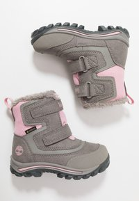 Timberland - CHILLBERG 2-STRAP GTX - Winter boots - medium grey - 0