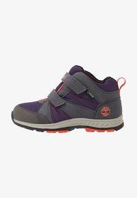 Timberland - NEPTUNE MID GTX 2STRAP  - Winter boots - medium grey/navy - 1