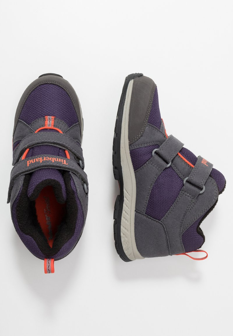 Timberland - NEPTUNE MID GTX 2STRAP  - Winter boots - medium grey/navy