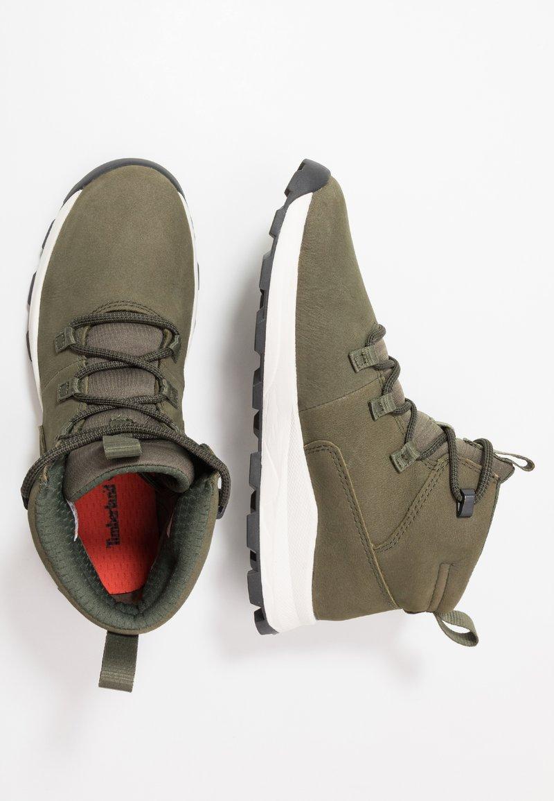 Timberland - BROOKLYN MODERN  - High-top trainers - dark green