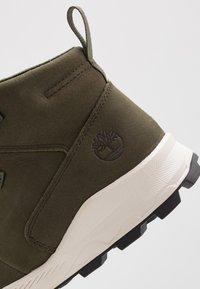 Timberland - BROOKLYN MODERN  - High-top trainers - dark green - 2