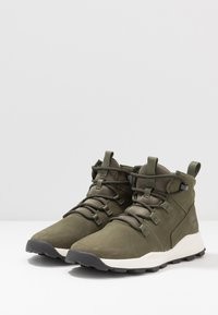 Timberland - BROOKLYN MODERN  - High-top trainers - dark green - 3