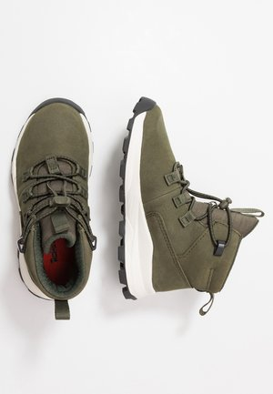 BROOKLYN - Sneakers hoog - dark green