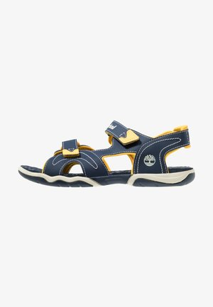 ADVENTURE SEEKER 2 STRAP - Trekkingsandale - navy/yellow