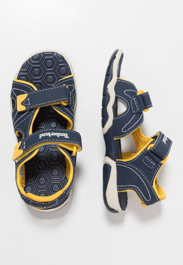 ADVENTURE SEEKER 2 STRAP - Trekkingsandaler - navy/yellow