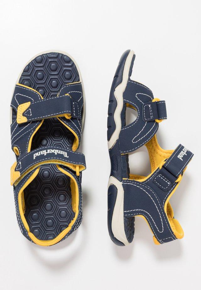 ADVENTURE SEEKER 2 STRAP - Trekkingsandale - navy/yellow