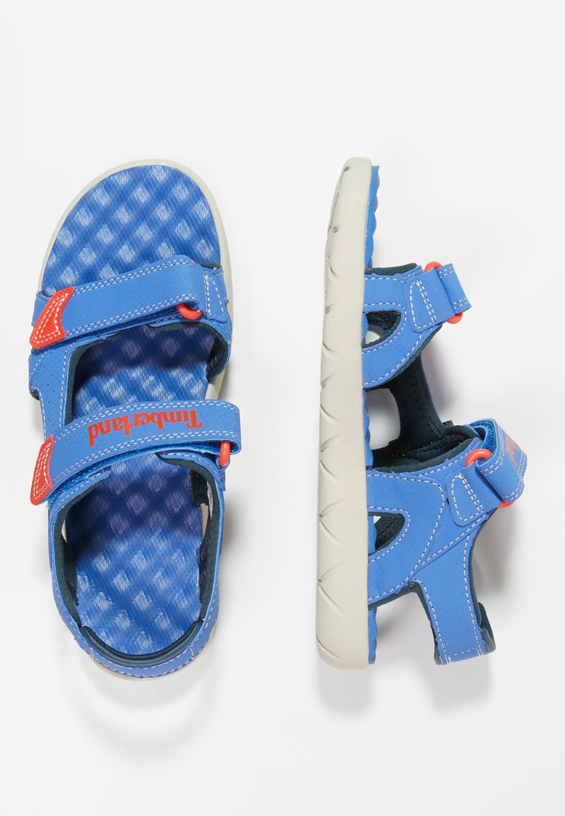 Timberland - PERKINS ROW 2-STRAP - Sandały trekkingowe - bright blue