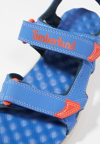 Timberland - PERKINS ROW 2-STRAP - Walking sandals - bright blue - 2