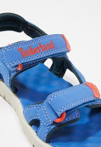 Timberland - PERKINS ROW 2-STRAP - Outdoorsandalen - bright blue - 2