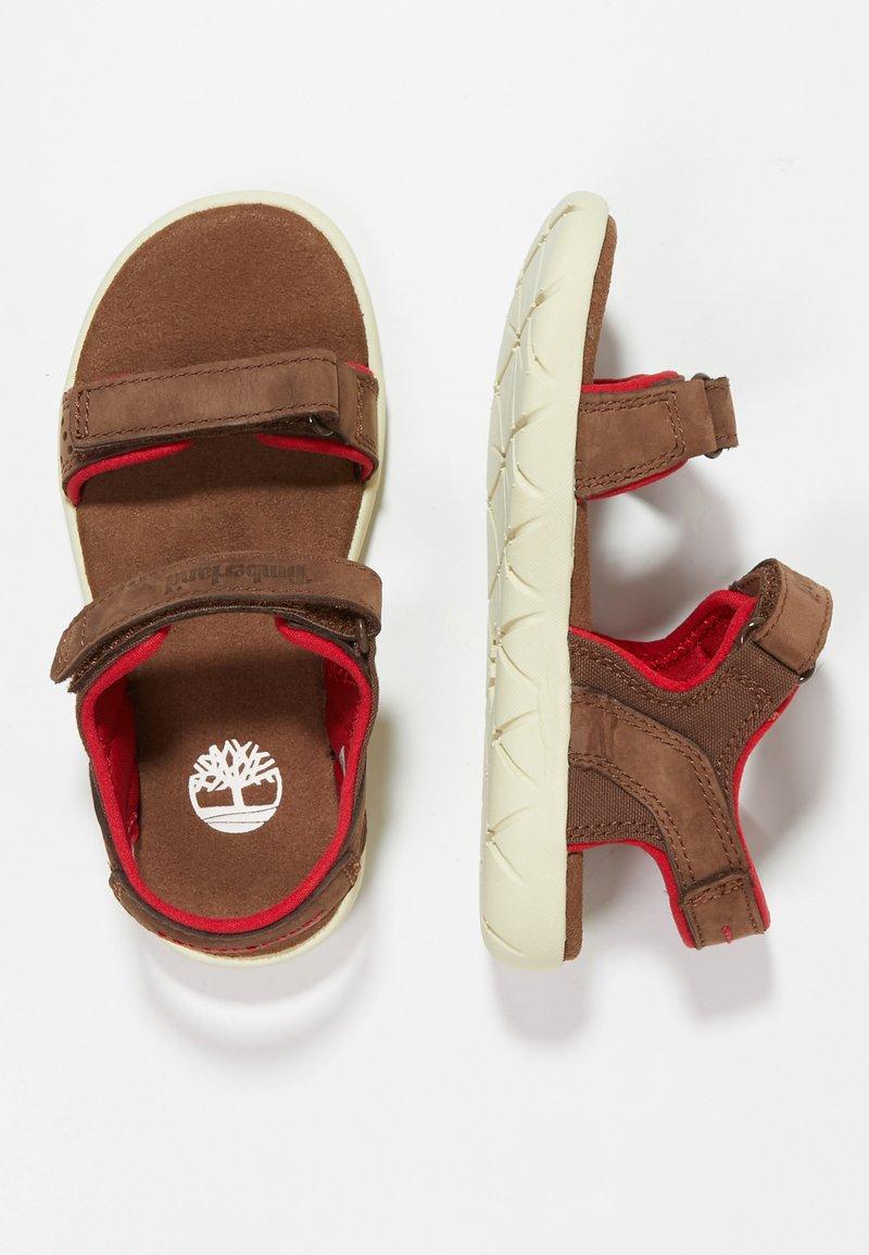 Timberland - NUBBLE STRAP - Sandals - dark brown