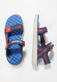 Timberland - PERKINS ROW WEBBING - Sandals - bright blue - 0