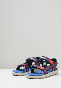 Timberland - PERKINS ROW WEBBING - Sandals - bright blue - 3