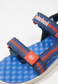 Timberland - PERKINS ROW WEBBING - Sandals - bright blue - 2