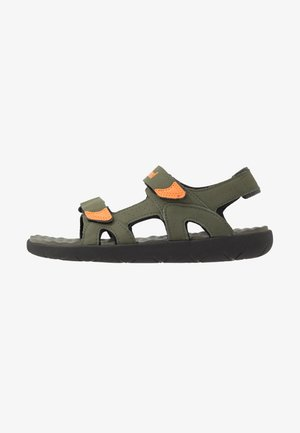PERKINS ROW 2 STRAP - Trekkingsandale - dark green
