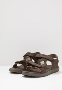 Timberland - NUBBLE - Walking sandals - dark brown - 2