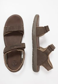 Timberland - NUBBLE - Walking sandals - dark brown - 1