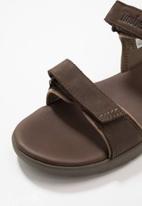 Timberland - NUBBLE - Walking sandals - dark brown - 5