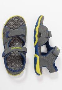 Timberland - ADVENTURE SEEKER 2 STRAP - Walking sandals - dark grey - 0