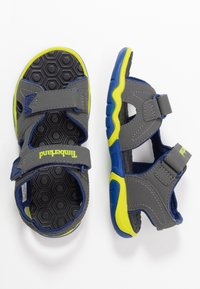 Timberland - ADVENTURE SEEKER 2 STRAP - Walking sandals - dark grey - 0