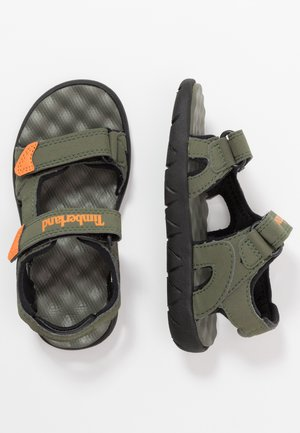 PERKINS ROW 2 STRAP - Sandales de randonnée - dark green