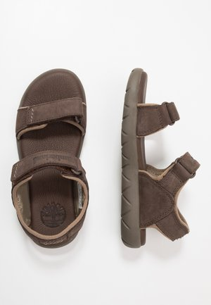 NUBBLE - Sandali da trekking - dark brown