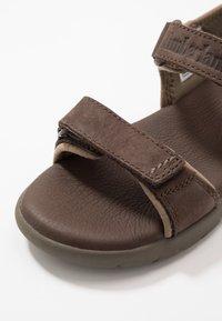 Timberland - NUBBLE - Chodecké sandály - dark brown - 2
