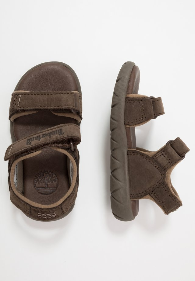 NUBBLE - Sandaler - dark brown