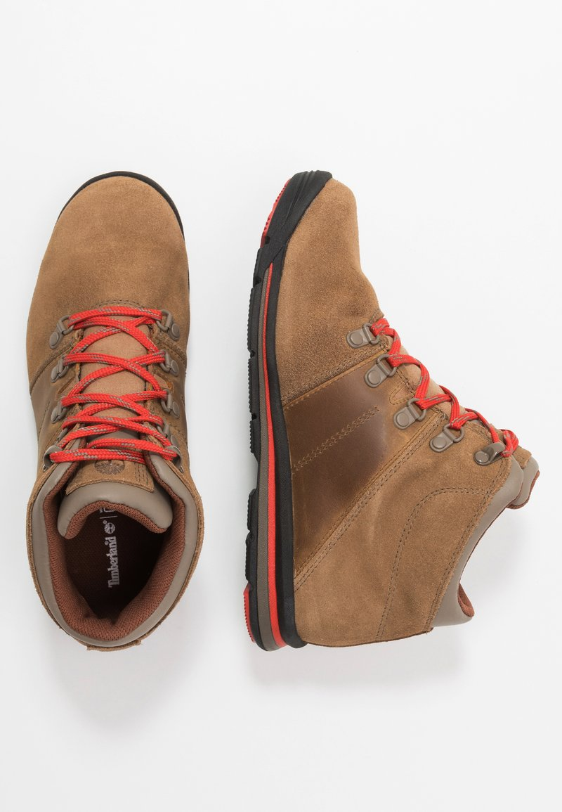 Timberland - GT RALLY MID WP - Bottines à lacets - medium brown