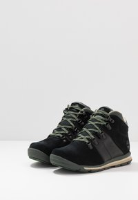 Timberland - GT RALLY MID WP - Lace-up ankle boots - black - 3