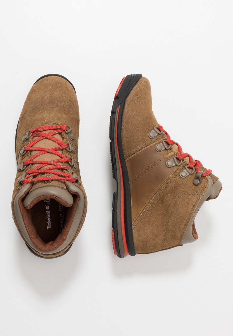 Timberland - RALLY MID WP - Bottines à lacets - medium brown
