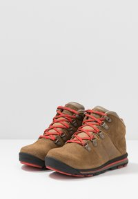 Timberland - RALLY MID WP - Bottines à lacets - medium brown - 3
