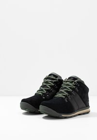 Timberland - RALLY MID WP - Bottines à lacets - black - 3