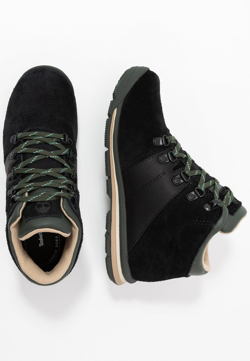 Timberland - RALLY MID WP - Lace-up ankle boots - black