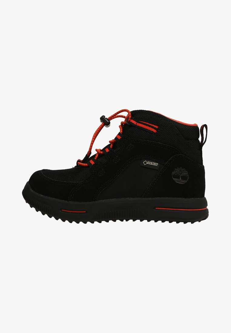 Timberland - CITY STOMP BUNGEE MID GTX - Bottines à lacets - black